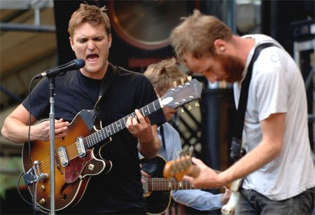 Cold War Kids invade East Village for the SoCAL Music Fest Saturday night.