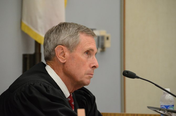 Superior Court Judge Richard Mills. Photo Weatherston.