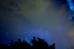 Lightning storm in El Cajon 8/28/12