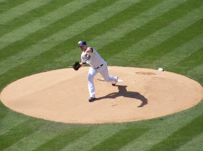 Padres pitcher Eric Stults