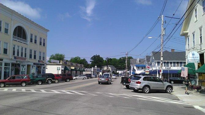 downtown Wolfeboro
