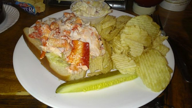 the famous lobster roll