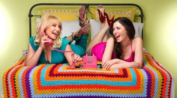 "Ari Graynor and Lauren Miller in ""For a Good Time, Call..."""