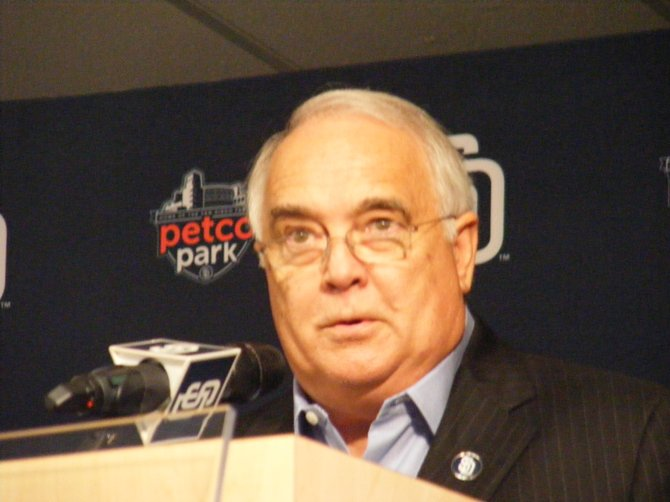 Padres ownership group spokesman Ron Fowler