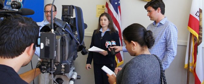 Prosecutor Patricia Lavermicocca signed the plea deal.  Photo Weatherston.