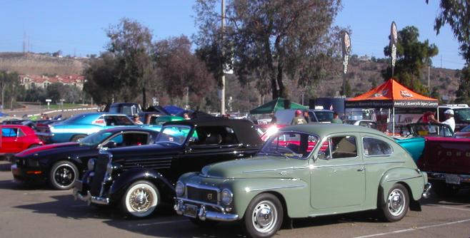 Qualcomm Stadium Car Show