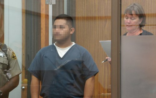 Diego Martinez, 20, pleaded not guilty. Photo Weatherston.