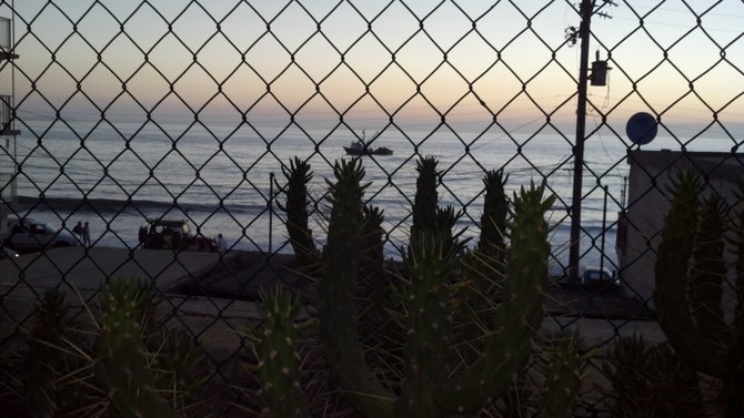 The view from my father's home in Playas de Tijuana. He is the wisest man that I know.