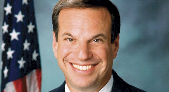 Bob Filner is grinning because he's making inroads into Carl DeMaio's real-estate-development fundraising base.