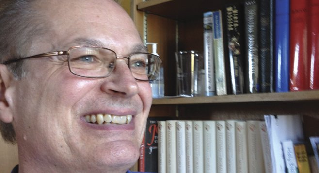 """Pastor Craig Dorval says of his work, """"I'm having a blast. There are problems and stress, but I love the work."""