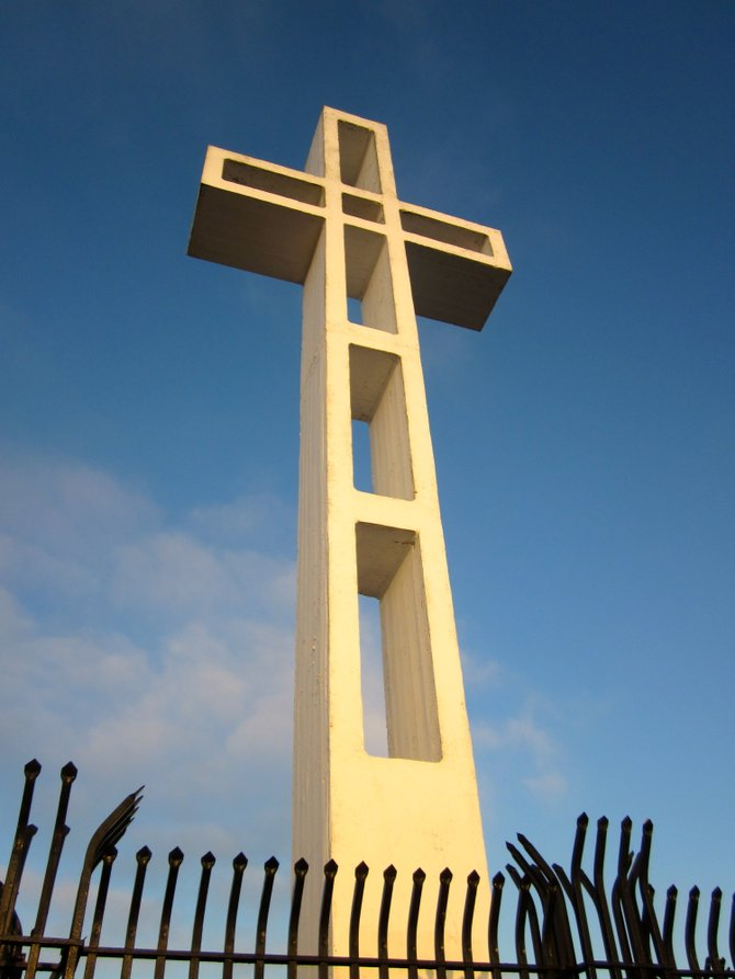 Mt. Soledad Cross in La Jolla July 2012