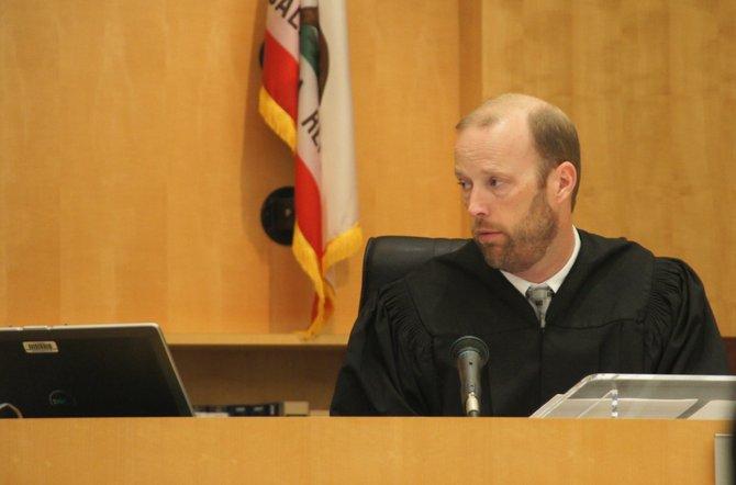 Superior Court Judge Robert Kearney.  Photo Weatherston.