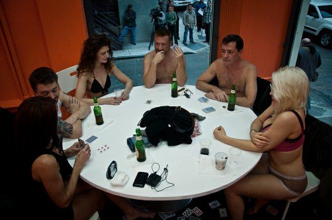 Смотреть порно я проиграл жену в покер9