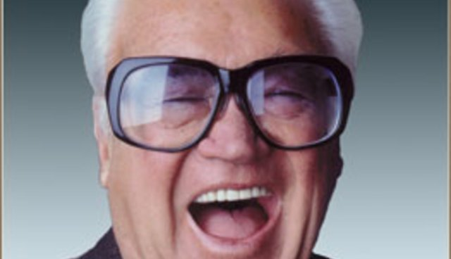 "Harry Caray says, ""Hey! Take a seventh-inning stretch and don't come back!"""