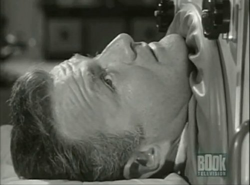 """Alfred Hitchcock Presents"" (1959) Episode: ""No Pain"" starring Brian Keith."