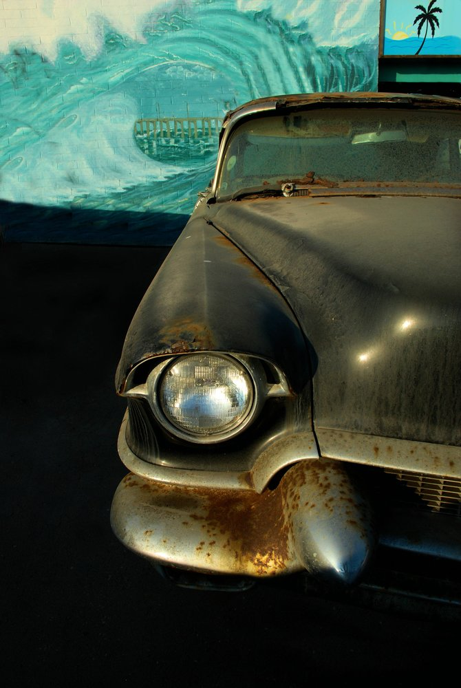 52 Chevy in the Tube, Ocean Beach