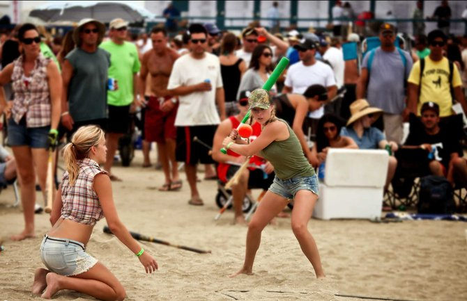 59th Annual World Championship Over The Line Tournament 2012 - Fiesta Island, Mission Bay Park, San Diego, California ©Sam Antonio