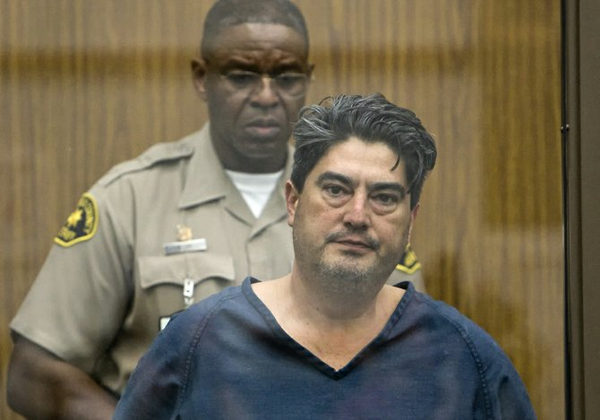 Michael Robles in court 2011.  Photo Nick Morris.
