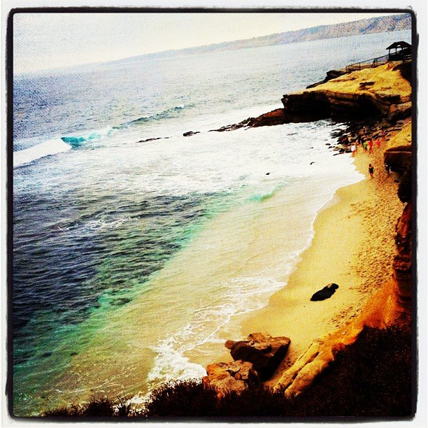 Beautiful La Jolla Cove