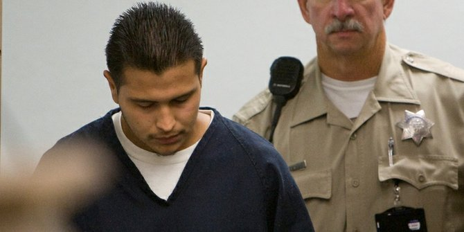 Ruben Anthony Cepeda pleads not guilty to two murder charges. Photo Nick Morris.