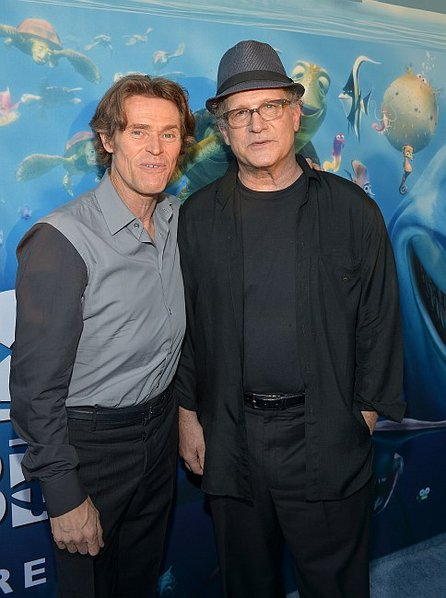 "Willem Dafoe and Albert at the premier of ""Finding Nemo in 3D."""