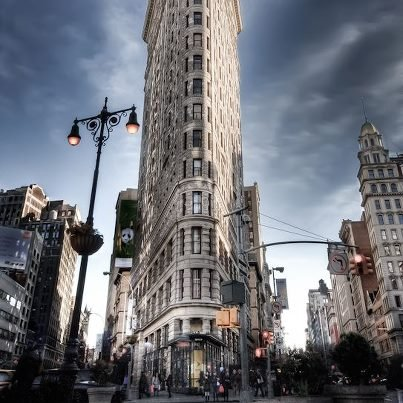 The Iconic Flatiron Building in NYC