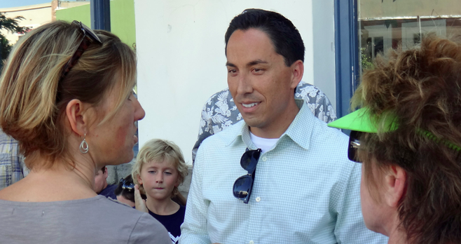 Todd Gloria (Kathleen Ferrier, left)