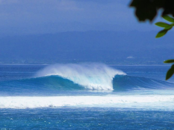 A perfect wave, just waiting to be surfed...