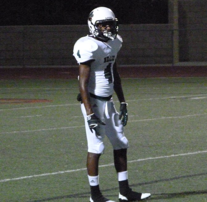 Helix junior defensive back Jalen Davis