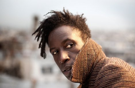 Wordsmith Saul Williams visits the San Diego Woman's Club Friday night.