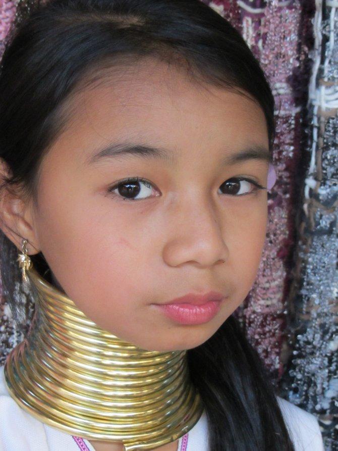 Long Neck Tribe Member in Northern Burma
