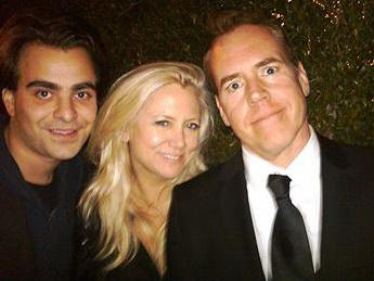 Nicholas Jarecki, producer Laura Bickford, and Bret Easton Ellis.