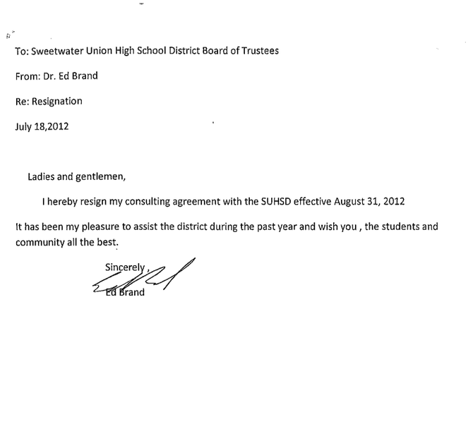 lease termination notice letters