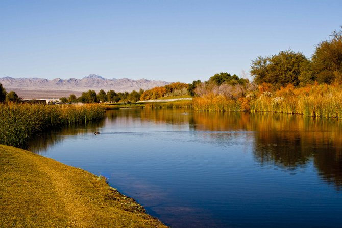 Mojave Resort Golf Club, Ft.Mojave, Nevada.