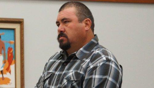 Jose Ledesma, 40, in court.  Photo Weatherston.