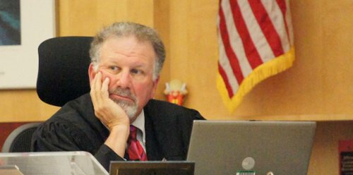 Superior Court Judge Harry Elias.  Photo Weatherston.