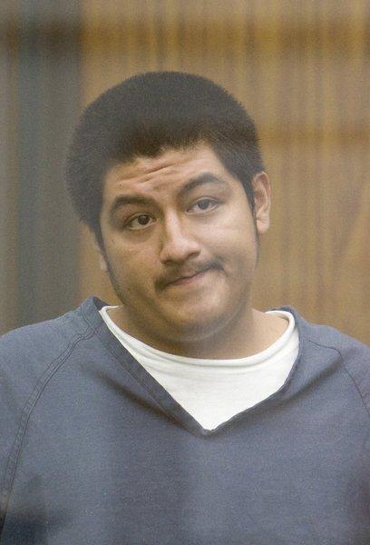 Hernan Cruz in court last July.  Photo Nick Morris.