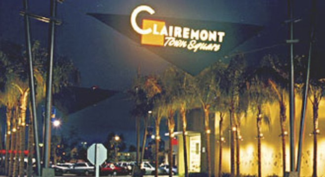 Clairemont -- it isn't Las Vegas.  But it's home.