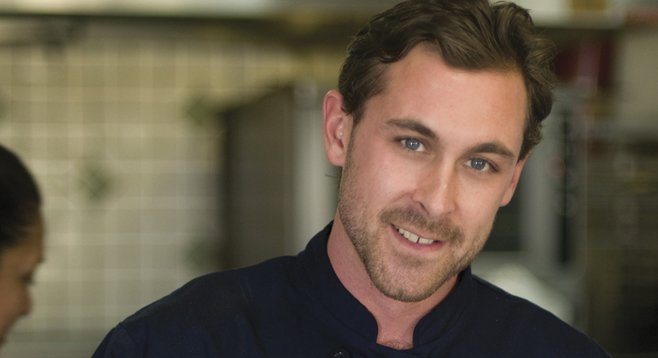 "Chef Joe Burns is ""big into sweet potatoes, yams, cheesecakes, and bread puddings."""