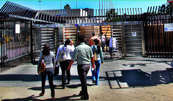 According to banners posted on pedestrian pathways, the turnstiles will cease their revolutions on September 27.