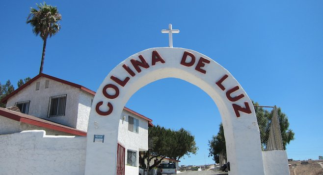 Colina de Cruz Orphanage, in T.J.'s La Gloria neighborhood, is home for 62 boys and girls.