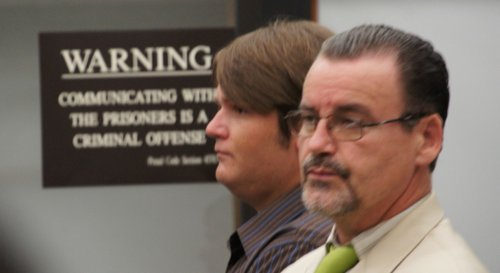 James Cameron Hollywood and his attorney. Photo Weatherston
