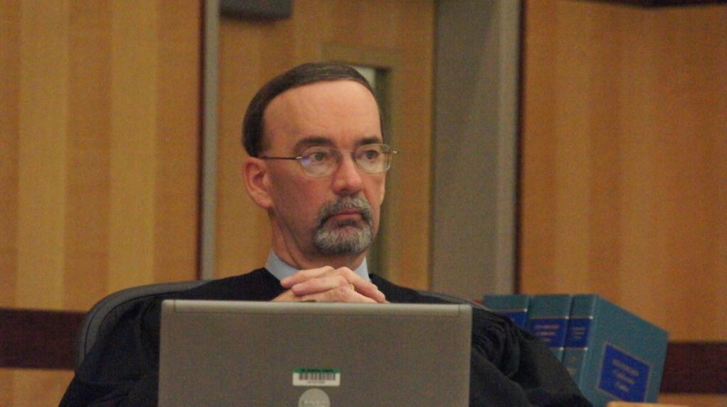 Judge K. Michael Kirkman.  Photo Weatherston.