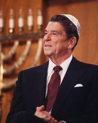 Kishmir N. Tuchas Aranald Reagan.
