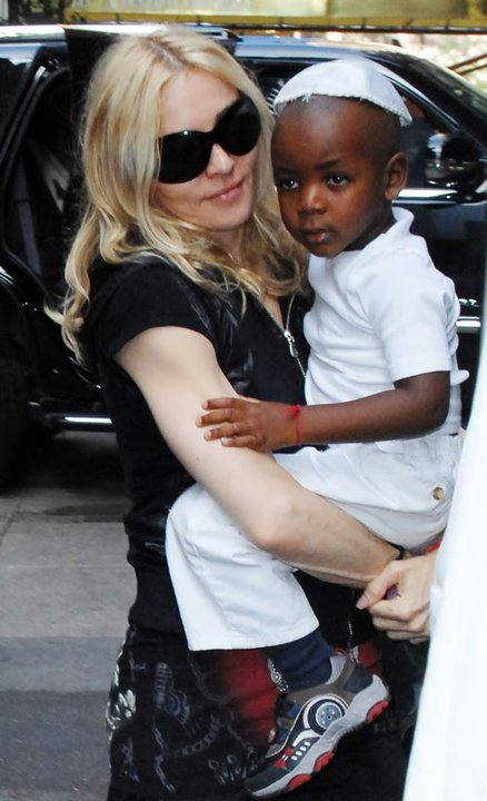 Madonna and Yitzchak Ciccone.