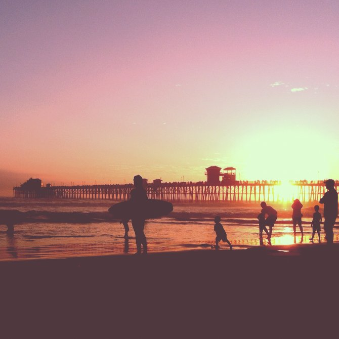 Last Days of Summer in Oceanside