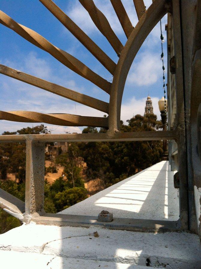 Balboa Park Framed