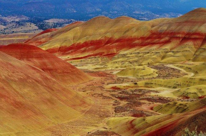 John Day National Park Oregon Painted Hills