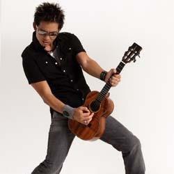 Jake Shimabukuro rockin' the uke