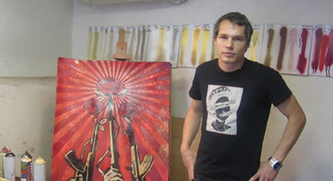Guerrilla graphic artist Shepard Fairey is fined but free.